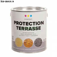 Vincent Protection Terrasse. Масло деревозащитное.