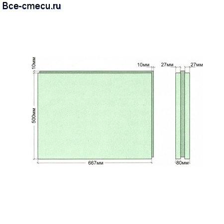 размер пазогребневого блока